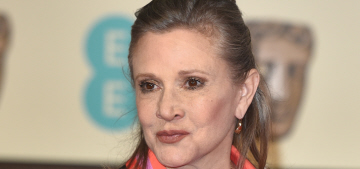 Carrie Fisher gave Harrison Ford a heads-up that she was revealing their affair