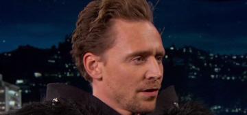 Tom Hiddleston introduced the 'Kong: Skull Island' trailer on Kimmel Live