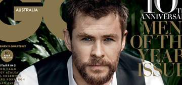 Chris Hemsworth, MOTY: 'You can't have a great man without a great woman'
