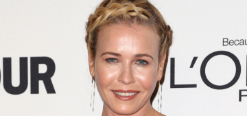 Chelsea Handler took another jab at Angelina Jolie at a charity event