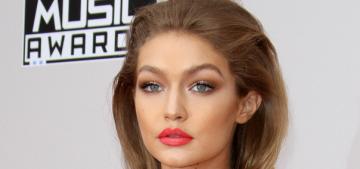 Was Gigi Hadid's Melania Trump impression the worst part of the AMAs?