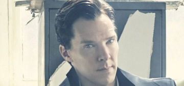 Benedict Cumberbatch worries he's perceived as 'white, male, upper-class'