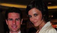 Tom Cruise & Katie Holmes will try in vitro because they want twins