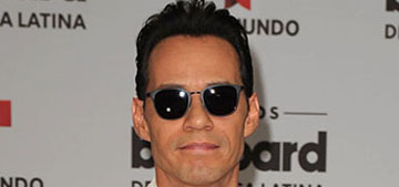 Marc Anthony's career is to blame for his split: he lives like a bachelor