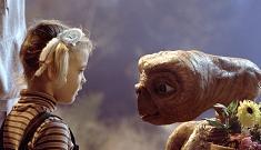 Drew Barrymore & Steven Spielberg are working on an ET sequel