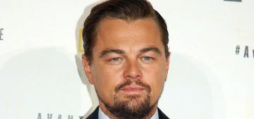 Leo DiCaprio spent Thanksgiving on a South Carolina plantation with Nina Agdal