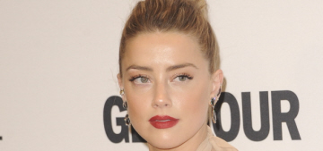 Amber Heard did a PSA about domestic abuse: 'It happens to so many women'