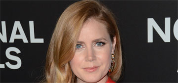 Amy Adams: ask producers about the wage gap, I don't want to be a headline