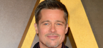 Are Brad Pitt & Kate Hudson quietly seeing each other?  Probably not.