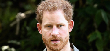 Prince Harry participated in a 'moment of silence' for the late Fidel Castro