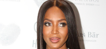 Naomi Campbell has 'helped a few' of the Instamodels with 'their walks'