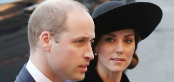 Duchess Kate repeated a McQueen coat for the Duke of Westminster's memorial