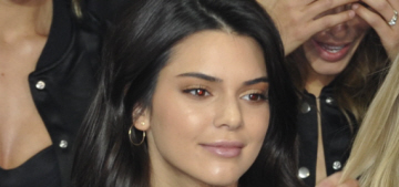 Does Kendall Jenner still look tweaked in Paris for the Victoria's Secret show?