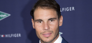 Did Rafael Nadal show off his alleged new 'hair transplant' in Madrid this week?