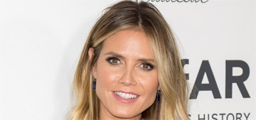 Heidi Klum didn't vote for Trump: 'It has nothing to do with him saying I'm not a 10′
