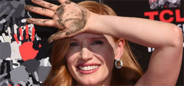 Jessica Chastain: 'I'm a nasty woman. I'm proud to be a nasty woman'