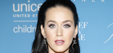 Katy Perry wore Marchesa, got honored by Hillary Clinton at the UNICEF ball