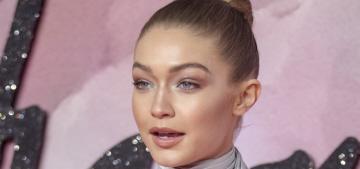 Gigi Hadid won 'Model of the Year' at the British Fashion Awards: deserving?