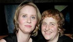 Cynthia Nixon confirms engagement to lesbian lover