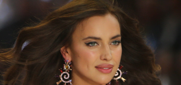 Irina Shayk & Bradley Cooper are so happy, but barely spending time together