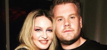 Madonna did 'Carpool Karaoke' with James Corden: boring or amazing?