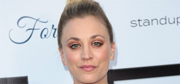 E!: Kaley Cuoco 'goes whenever and wherever' her boyfriend, Karl Cook, goes