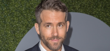 Ryan Reynolds tries to explain his obvious discomfort at the Taymerica party