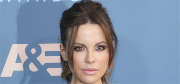 Kate Beckinsale in Reem Acra at Critics' Choice: pretty or overworked?