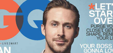 Ryan Gosling on his girls: 'Eva's the dream mother, and they're dream babies'