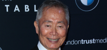 George Takei is thrilled with the new gay character in Star Trek: Discovery