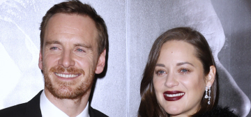 Marion Cotillard's burgundy lipstick at 'Assassin's' premiere: on-trend or dated?