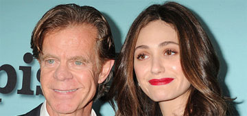 William H. Macy supports Emmy Rossum's bid for equal pay: 'it's about f-ing time'