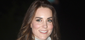 Duchess Kate wore a £170 cashmere sweater to the Cub Scout event: cute?