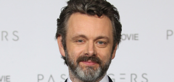 Is Michael Sheen quitting acting to fight fascism full-time?  Perhaps.