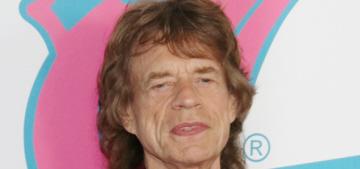 Mick Jagger & Melanie Hamrick named their son Deveraux Octavian Basil