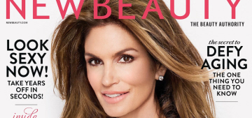 Cindy Crawford: 'No matter what I do, I'm not going to look 20 or 30′