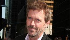 Hugh Laurie worries he's screwed up his kids