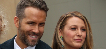 Blake Lively & Ryan Reynolds' second daughter is named 'Ines' apparently