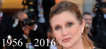Carrie Fisher has passed away at 60 following a heart attack