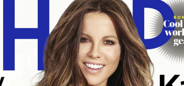 Kate Beckinsale: 'I've never actually had an entire glass of anything alcoholic'