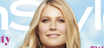 Gwyneth Paltrow covers InStyle, is an impossibly smug 'trailblazer' & expert