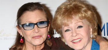 Debbie Reynolds passes away one day after losing her daughter, Carrie Fisher