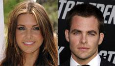 Chris Pine has 'under the radar' hookups with Audrina Patridge