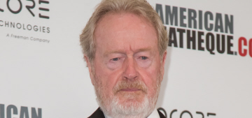 Ridley Scott is a judgy hipster: 'Superhero movies are not my kind of thing'