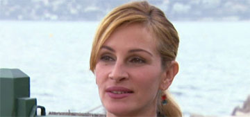 Enquirer: Julia Roberts flipped out and threw a pillow on a plane