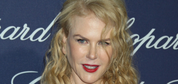 Nicole Kidman in Dior at the Palm Springs Film Festival: jacked or lovely?