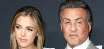 Sylvester Stallone trained as a hairdresser & he's colored his daughters' hair