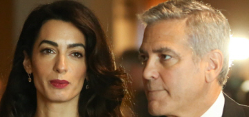 'Family friends' claim George & Amal Clooney are expecting twins