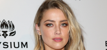 Amber Heard sparkles at the Art of Elysium gala: gorgeous or boring?