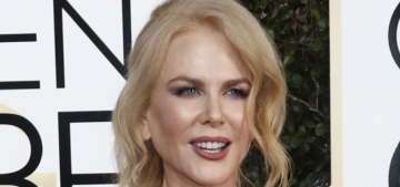Nicole Kidman in McQueen: one of the worst looks of the Golden Globes?